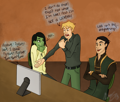 Magic-Green-Proud: Draco does not approve by dgLari