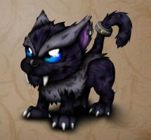 Midnight Moon Pup by MakuTechInd