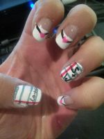 Love Note Nails by sgalea333