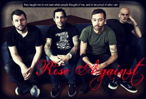 Rise Against by EchelonMars14