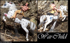 Warchild Custom Stablemate by Skye-Wolf