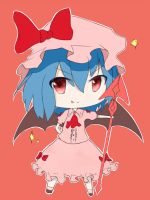 Remilia Scarlet - i'll take over the world! by fvze