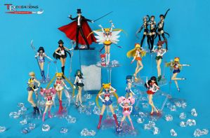 Sailor Moon S.H. Figuarts Collection! :D by zelu1984