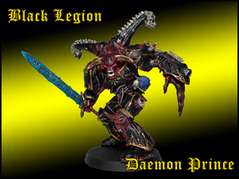Black Legion Daemon Prince by Knyghtos