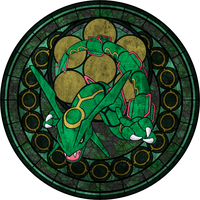 Dive Into the Heart - Rayquaza by Narkh