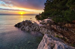 Adriatic sunset by ivancoric