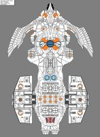 DX-22 USS Erefore by Aseika