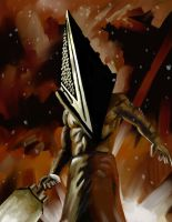 Pyramid Head by KuddlyFatality