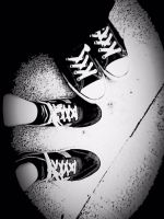 Our Shoes :. by xXLulubellSamaXx