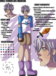Emile Reference Sheet by Cazuuki