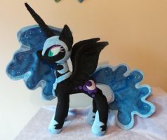 Nightmare Moon Plushie by Pinkamoone