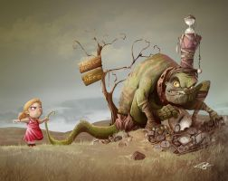 No Monster here by Tosello