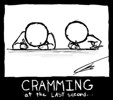 Cramming Sessions by Halfingr
