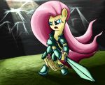 Flutterknight goes Paladin by ImpCJCaesar