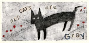 All Cats Are Grey by Nachan