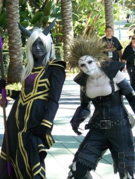 Draenei and Undead 2 by Egg-Sisters-Cosplay