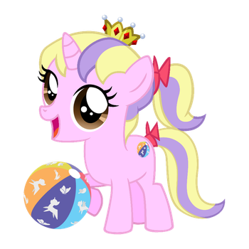 Gift Art: Filly Princess by SaturnGrl