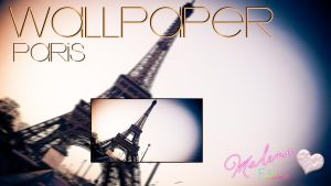 Wallpaper Paris by maalenitha