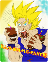 Kamehame-Cake by NOTW-Artwork