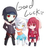 GOOD LUCK by B0RN-T0-DIE