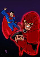 Justice League Rage Of The Red Lanters by nic011