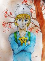 Finn the human! by MelanieBrown