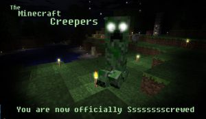 The Minecraft Creepers by Roqd