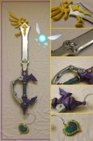 Guardian Of Hyrule Keyblade by Sephiroths-Shadow
