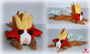 Pokemon -  Little Entei - Handmade Beanie Plush by Lavim