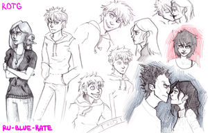ROTG sketches by MindlessKate
