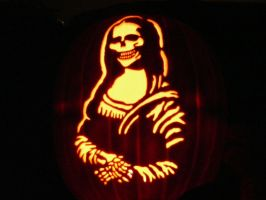 2009 Pumpkin carve by kenklinker