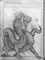 Eart Eastern Dragon Unfinished by GRAVEMIND1110