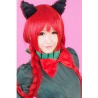 Touhou Project Kaenbyou Rin Red Cosplay Wig by Leonaclick