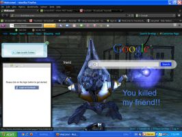 My google page on firefox by imthinkinarby
