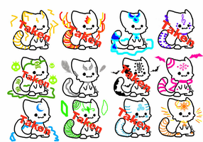 Element kitties for sell  2 left (open) by thebloodedrose