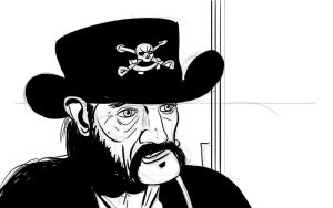 Janus-uary Day 5: Lemmy in his final weeks by Reinder
