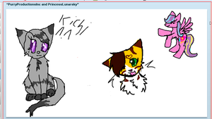 iScribble Collab with jollybunny by PurryProductions-Inc