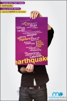 Typography - Earthquake by MadDesign