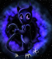 Little Galactic Demon by Never2Wonderland