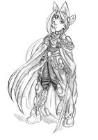 Takius in Rune Armor.. by Acedes