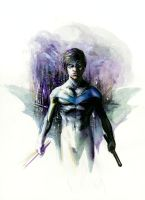 Nightwing Commission by arosenlund