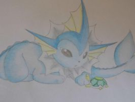 Vaporeon by nintendofreak97