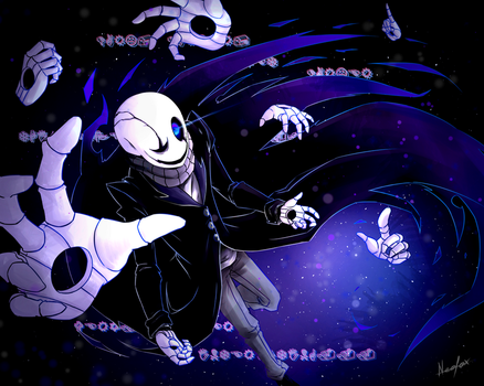 W.d.gaster by Neofox67