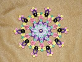 Quilling Mandala by OmbryB