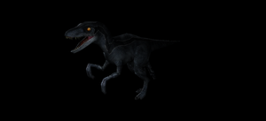 Jurassic World Raptor Squad Member - Blue by Valforwing