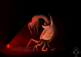 Scary dude by bluemage13