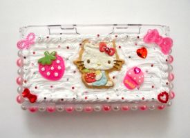 Sweet Kitty Nintendo DS Case by AmbiguousAngel