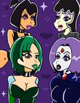 GORGEOUS GOTHS by NoirEclisped