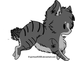 Wolf Adoptable by CollectionOfWhiskers