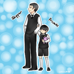 PoM || Young Skipper and Private by Kapo-Chan
